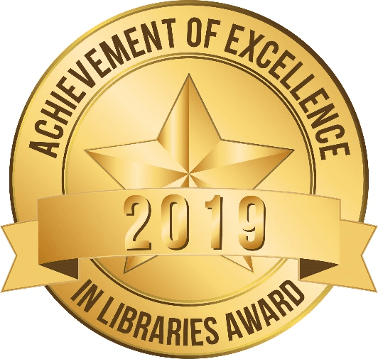 2019 Library of Excellence Logo