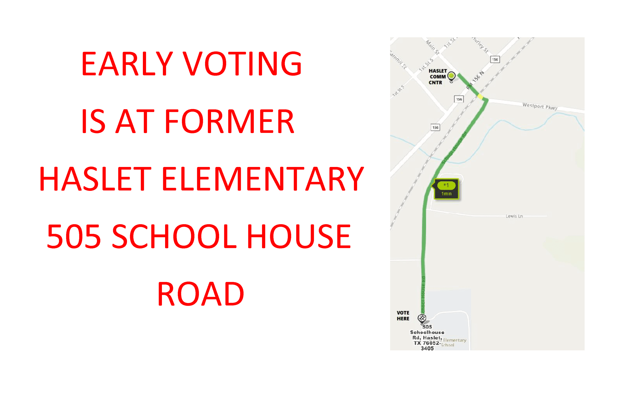 EARLY VOTING LOCATION 2020
