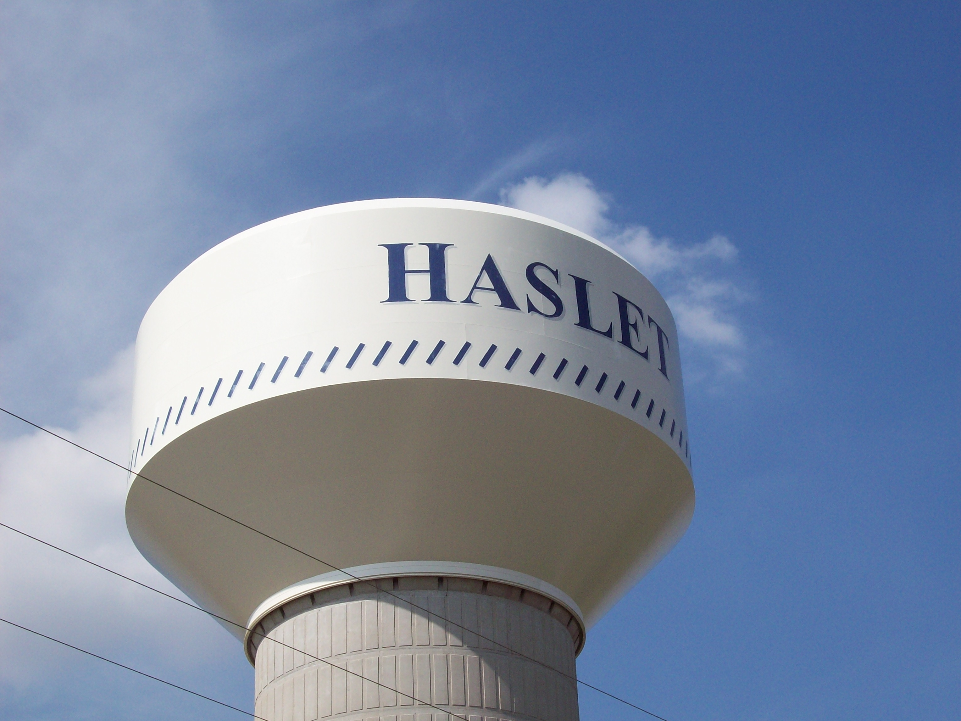 Haslet Water Tower 1