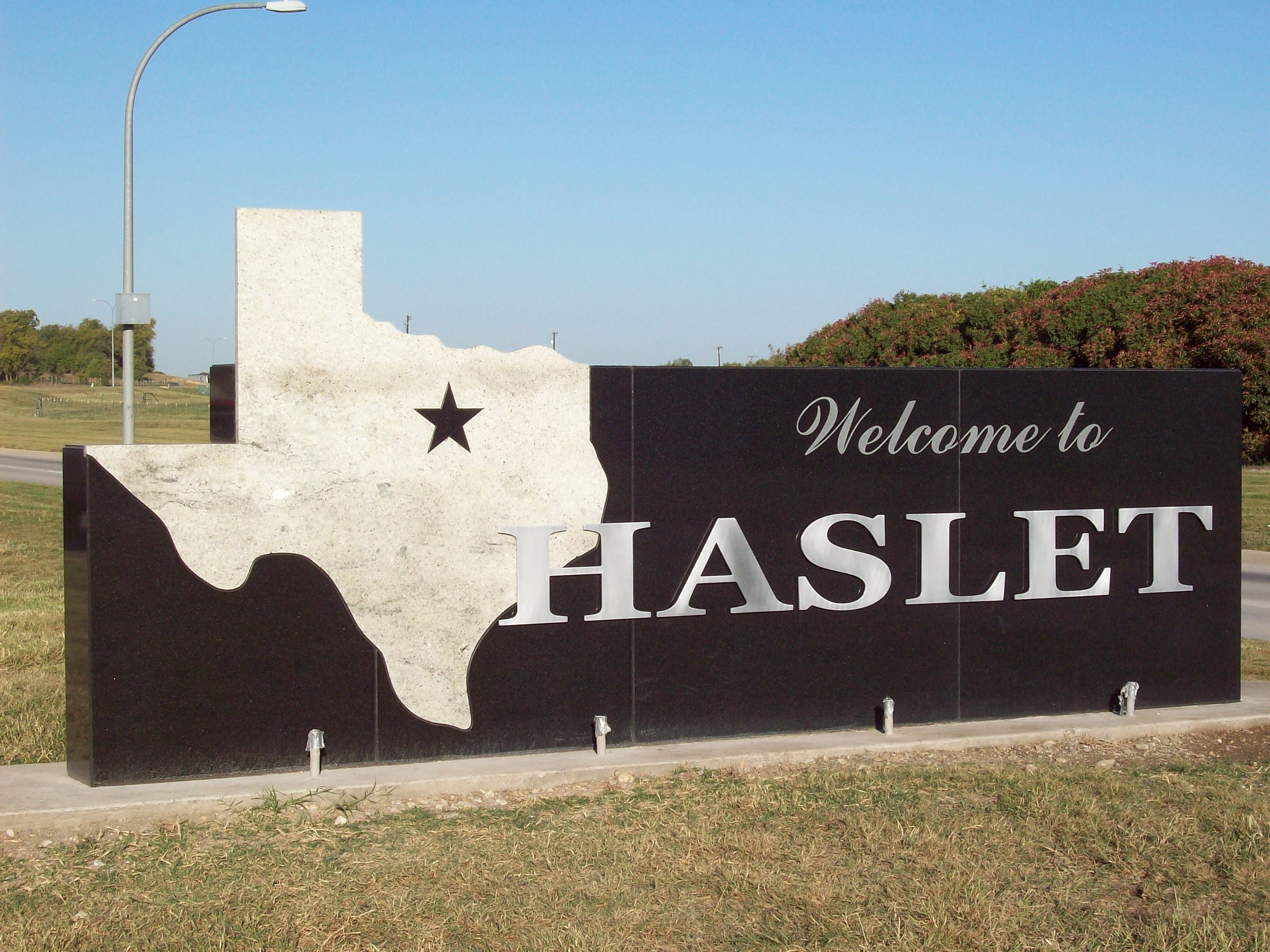 Haslet sign